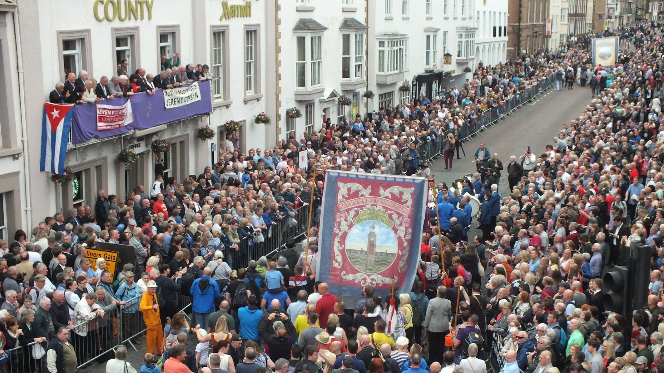Memories of the Durham Miners Gala