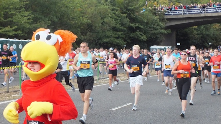 A Pictorial Story of the Great North Run