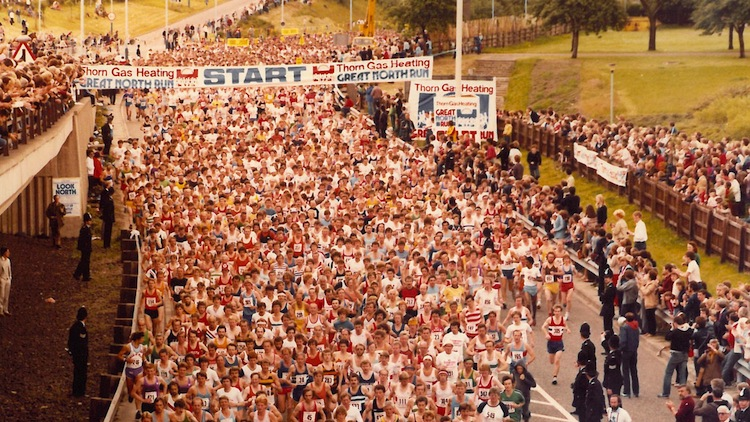 The First Great North Run
